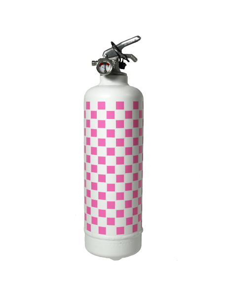 Car fire extinguisher Vichy white