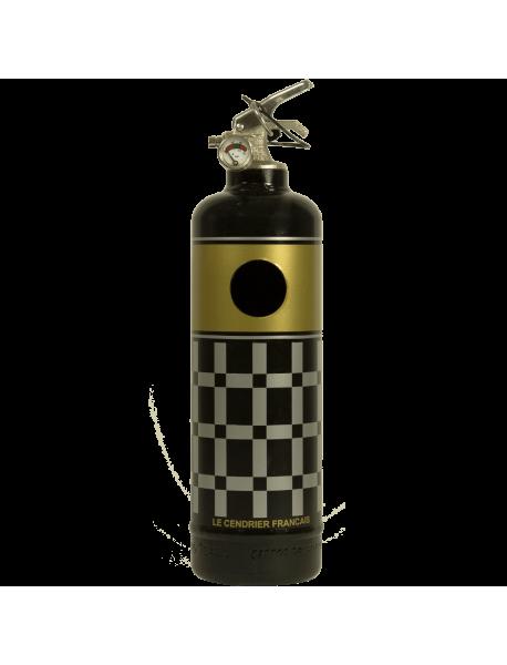 Cendrier design Carrés noir
