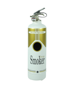 Cendrier design Smoker gold
