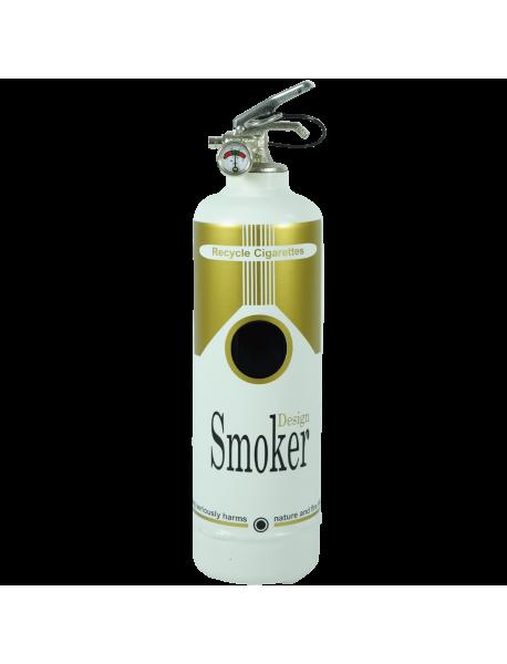 Cendrier design Smoker gold