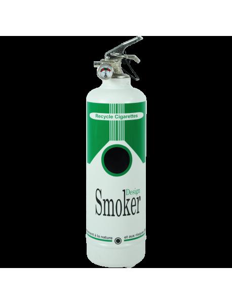 Cendrier design Smoker vert