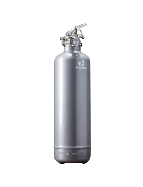 Fire extinguisher design grey
