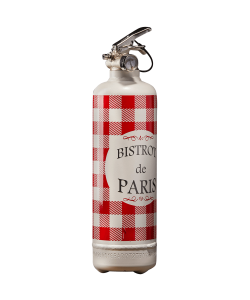 Fire extinguisher design Bistrot de Paris