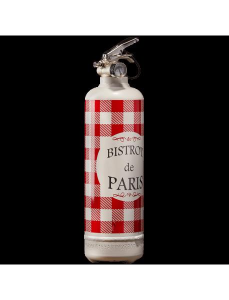 Extincteur design Bistrot de Paris