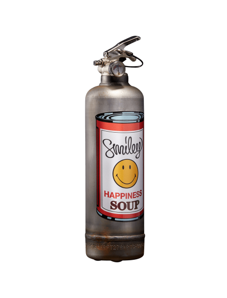 Fire extinguisher vintage Smiley Soup