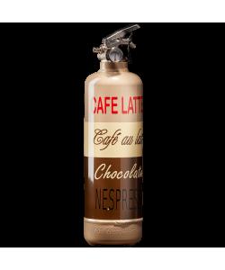 Extincteur cuisine Café Latte