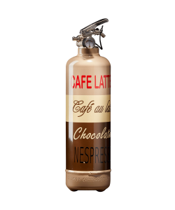 Fire extinguisher kitchen Café Latte