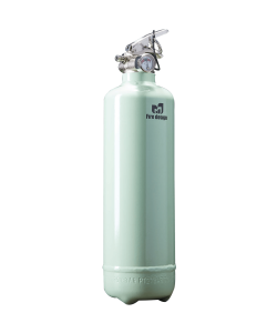 Fire extinguisher design light green