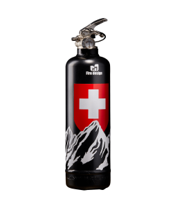 Fire extinguisher design Petit Suisse black