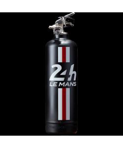Extincteur design 24H Le Mans Bandeau noir