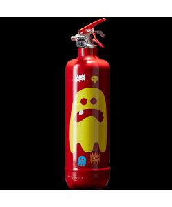 Extincteur déco AKLH Ghost rouge