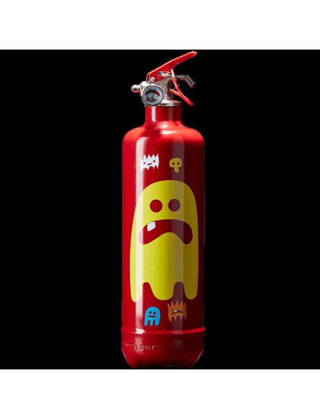Estintore design AKLH Ghost rosso
