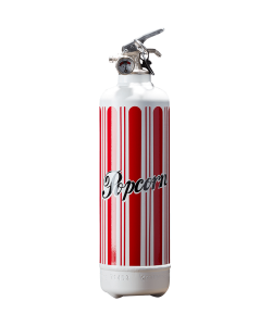 Fire extinguisher kitchen Pop Corn white