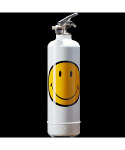 Estintore design Smiley Classic bianco