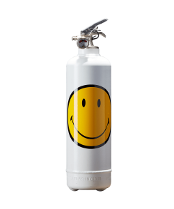 Extincteur design Smiley Classic blanc