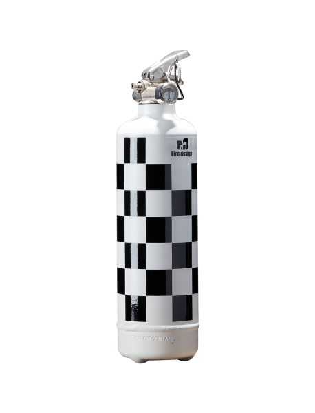 Fire extinguisher for car Speed white