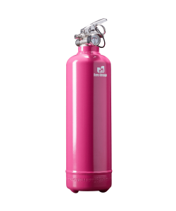 Fire extinguisher design plain pink