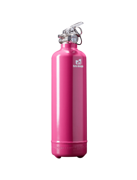 Fire extinguisher design pink