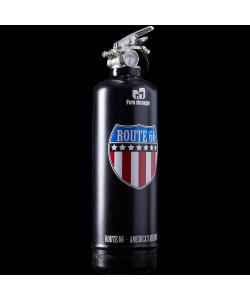 Fire extinguisher design Route 66