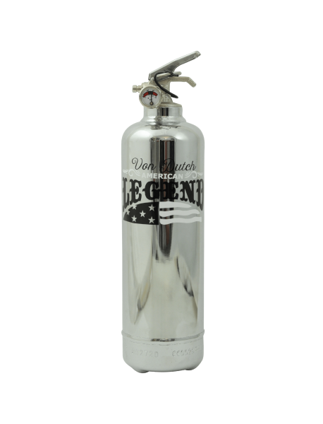 Fire extinguisher chrome Von Dutch American Legend