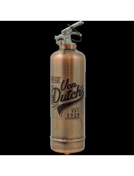Estintore design Von Dutch Est 1929 copper