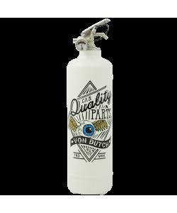 Fire extinguisher design Von Dutch Fly Eye white