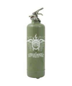 Fire extinguisher design Von Dutch Hollywood khaki