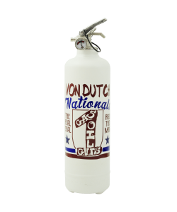 Extincteur design Von Dutch Nationals blanc