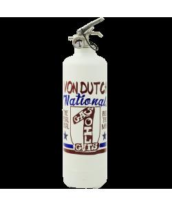 Fire extinguisher design Von Dutch Nationals white