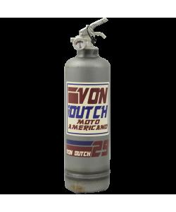 Estintore vintage Von Dutch Moto Americano