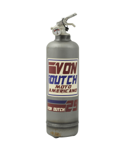 Fire extinguisher vintage Von Dutch Moto Americano