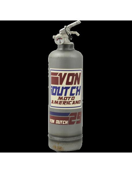 Extincteur vintage Von Dutch Moto Americano