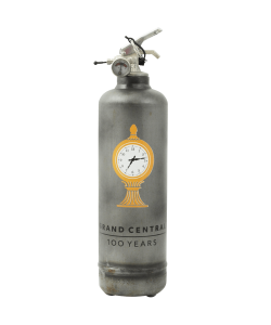 Designer fire extinguisher MTA Grand Central vintage