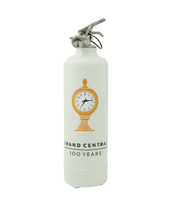 Designer fire extinguisher MTA Grand Central white