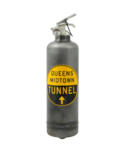 Estintore di design MTA Queens Tunnel vintage