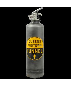 Extincteur vintage MTA Queens Tunnel