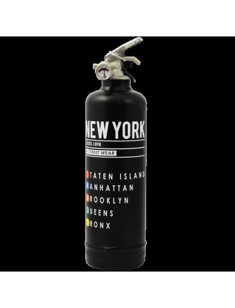 Extincteur déco MTA Street Wear noir