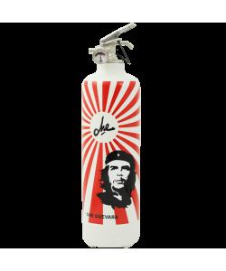 Designer fire extinguisher Che Guevara Rayons white