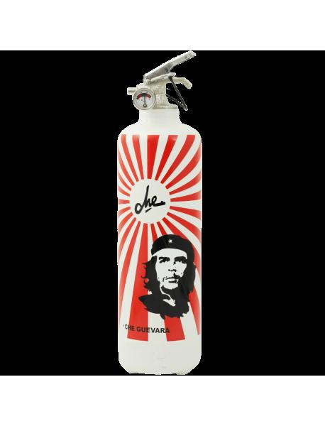 Extincteur design Che Guevara rayons blanc