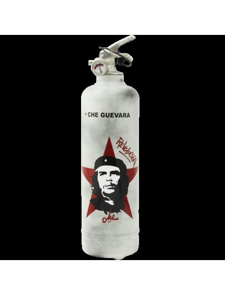 Extincteur design Che Guevara Revolution blanc