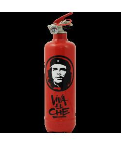 Designer fire extinguisher Che Guevara Viva red