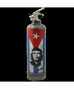 Designer fire extinguisher Che Guevara Flag vintage