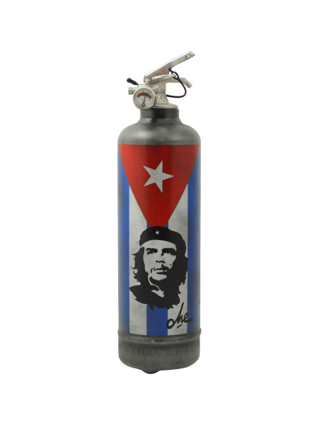 extincteur vintage Che Guevara flag