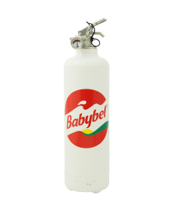 Designer fire extinguisher kitchen Babybel Classic white