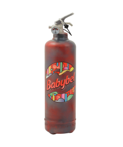 Designer fire extinguisher kitchen Babybel Logo Motifs vintage