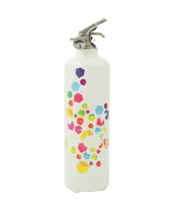 Designer fire extinguisher kitchen Babybel multi cube white