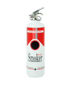 Cendrier design Smoker red