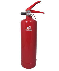 Fire extinguisher design red