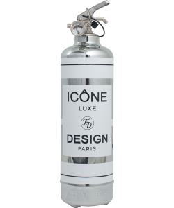 Icone Chrome/Blanc