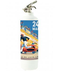 24H  du Mans Poster 1 Blanc